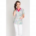 Bluza medyczna damska Print