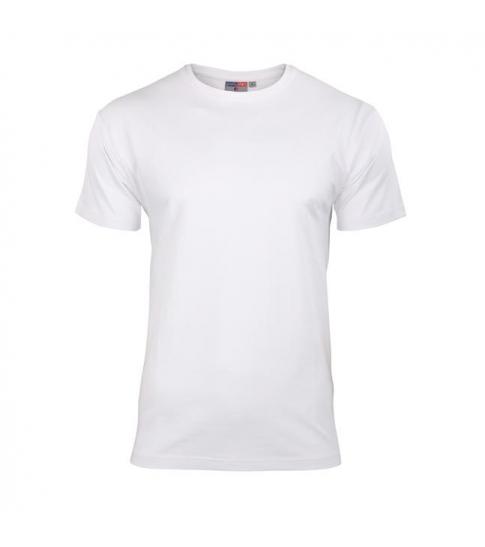 Koszulka elastan męska biała -84