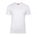 Koszulka elastan męska biała