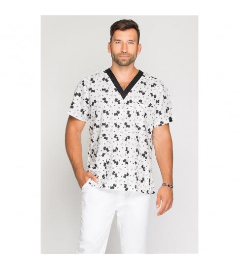 Bluza medyczna męska Terrier