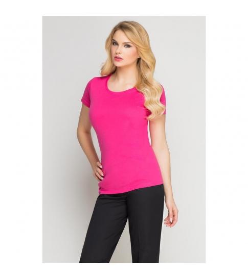 T-Shirt damski amarant -259