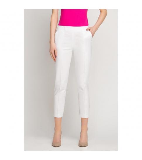 Spodnie kosmetyczne Cygaretki białe