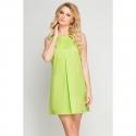 Sukienka kosmetyczna Vena Beauty limonka