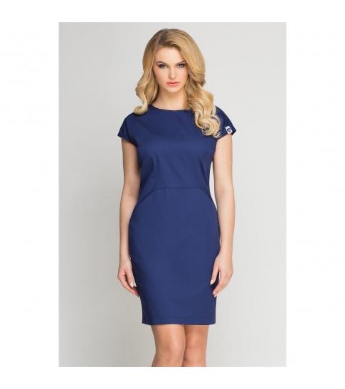 Sukienka kosmetyczna Vena Blu Marino -200