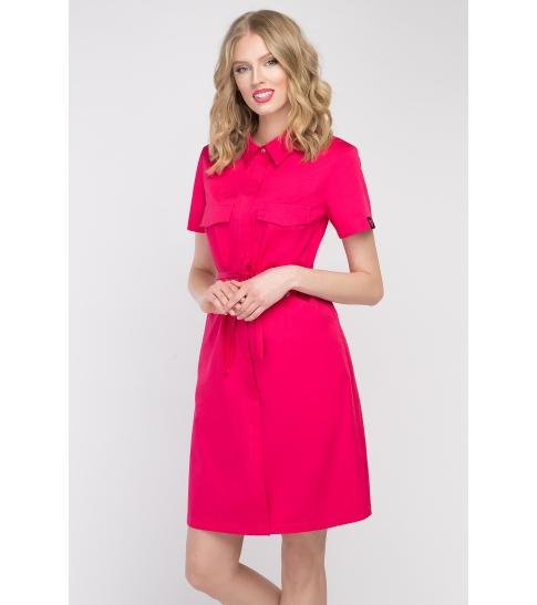 Sukienka kosmetyczna Sportivo amarant