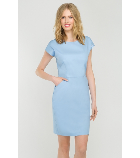 Sukienka kosmetyczna Vena Baby Blue