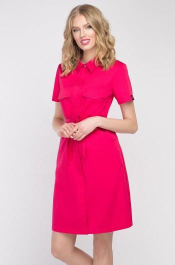 Sukienka kosmetyczna Sportivo amarant-287