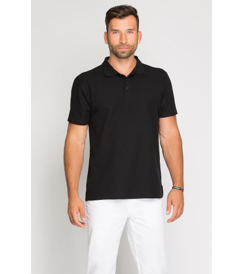 Koszulka Polo męska czarna -89