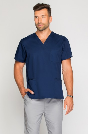 Bluza medyczna męska granatowa-271